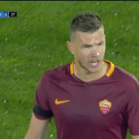 Pescara-Roma, Spalletti lo sostituisce: è rabbia Dzeko. Il film della partita