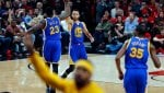 Playoff Nba: Curry trascina Golden State al 2° turno, ok Toronto e Atlanta
