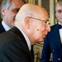 """Giorgio Napolitano: """"Da noi c'è chi insegue i populisti ma il voto francese dimostra che..."""