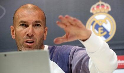 Zidane: ''Il Clasico? Persa  solo una partita, ripartiamo''