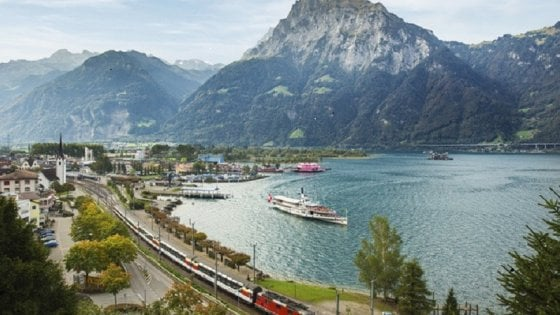 Svizzera: l'innovazione sulla storica linea ferroviaria