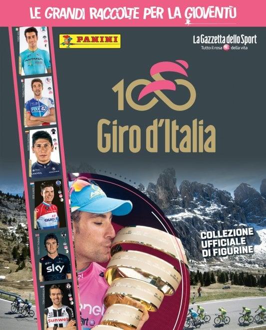 Ciclismo, Giro d'Italia in figurine: arriva la raccolta della Panini