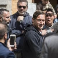 Roma, Totti sfida la Lazio: