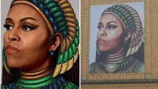 Spunta il murale di Michellee scoppia la polemica