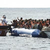 Il volontario dei salvataggi Riccardo Gatti, della Proactiva Arms: