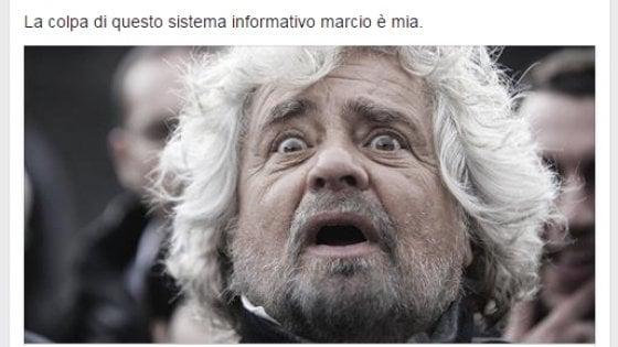 """Grillo attacca Reporter Senza Frontiere: """"Io sarei il problema? Sistema marcio"""""""