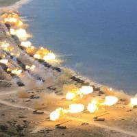 Corea del Nord, la prova di forza di Kim Jong-un: l'esercitazione è imponente