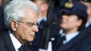 """Mattarella: """"Parlamento approvi presto nuova legge elettorale"""""""