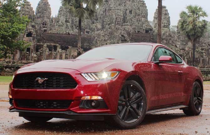 Mustang, la muscle car dei record