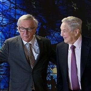 Juncker riceve il finanziere Soros: una mossa per salvare l'Università ungherese