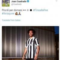 Juventus, gaffe Cuadrado: svela la nuova maglia con un tweet