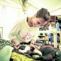 """Ileana, ostetrica di guerra per scelta: """"Vi racconto il lavoro dei volontari"""""""