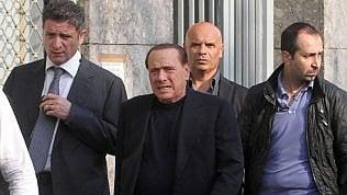 """Berlusconi ricoverato dopo una caduta a Portofino. """"Si è ferito ad un labbro"""""""