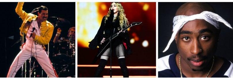 Madonna, Freddie Mercury e Tupac, i biopic invadono Hollywood -  Foto  -  Video