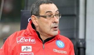 """Napoli, Sarri fa chiarezza sul futuro: """"Ho un contratto, ma è importante la conferma di tutti i giocatori"""""""