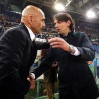 Roma, che derby per Spalletti: