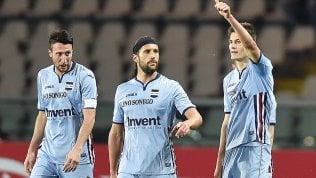 Schick-Iturbe, Toro-Samp 1-1.Domani il derby e Inter-Napoli