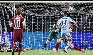 Torino-Sampdoria 1-1: Iturbe risponde a Schick