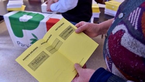 Primarie, il Pd sceglie il leader. Si vota ai gazebo dalle 8 alle 20