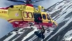 Gran Sasso, due alpinisti morti dopo un volo di 400 metri