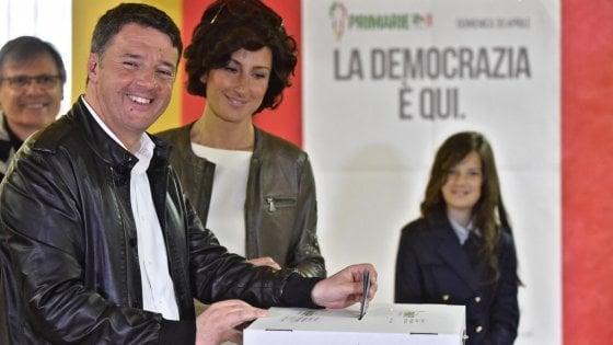 """Primarie Pd, Renzi vince nettamente: """"Al fianco del governo: nuovo inizio, niente rivincite"""""""