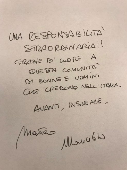 "Primarie Pd, Renzi ringrazia gli elettori su Facebook: ""Una responsabilità straordinaria"""