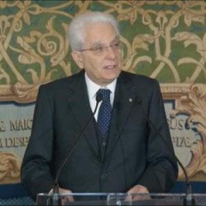 """Primo maggio, Mattarella avverte: """"Il lavoro è legato alla democrazia"""""""