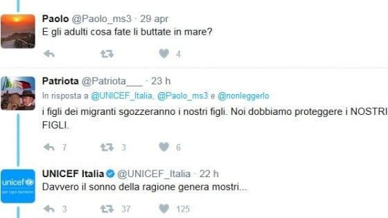 Migranti e Ong, così Unicef risponde a critici e troll della Rete