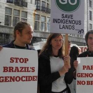 """Guaranì, il loro leader in Europa chiede sostegno: """"Stanno sterminando il mio popolo"""""""