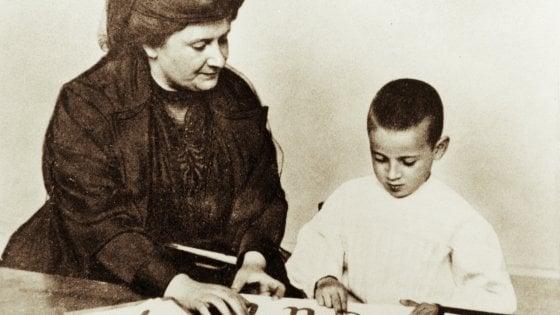 Maria Montessori, la grammatica è una magia