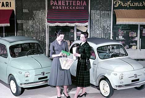 """Tutti pazzi per le """"vecchiette"""" made in Italy"""