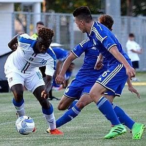 Europei Under 17, esordio vincente per gli azzurrini: un gol di Kean piega la Croazia