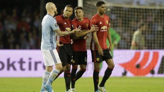 Europa League, Celta Vigo-Manutd 0-1: Rashford avvicina Mourinho alla finale
