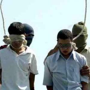 Pena di morte, Iran: almeno 90 minorenni nel braccio della morte