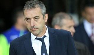Sampdoria, Giampaolo ritrova l'attacco: ''La Lazio? Ce la giochiamo, come sempre''