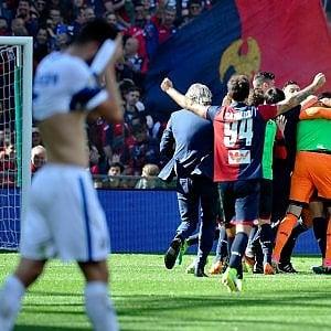 Genoa-Inter 1-0, Pandev avvicina la salvezza. Candreva nel finale sbaglia un rigore