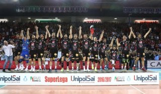 Volley, SuperLega: scudetto alla Lube, Trento ko in tre partite
