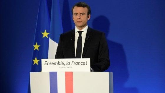 "Macron presidente, l'Europa esulta: ""Una vittoria per l'Ue"""
