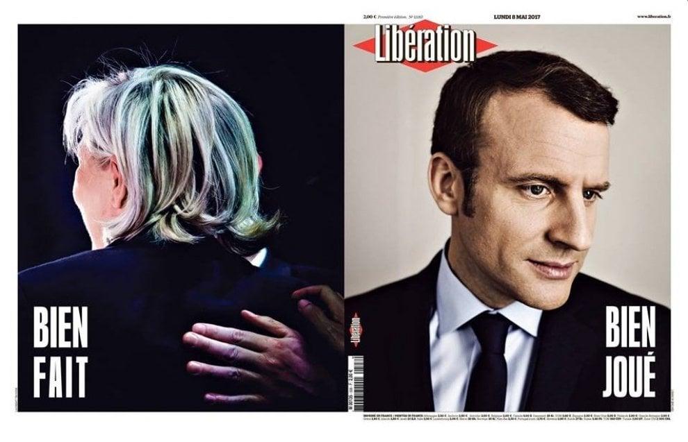 Francia, Macron presidente: la notizia sulle prime pagine del mondo