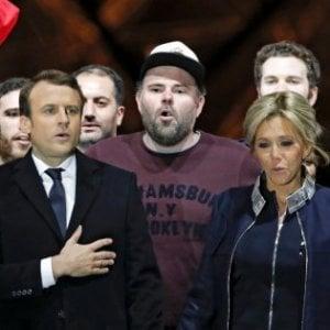 """L'uomo col cappellino: """"Io sul palco tra Macron e Brigitte ma non cercavo attenzione"""""""