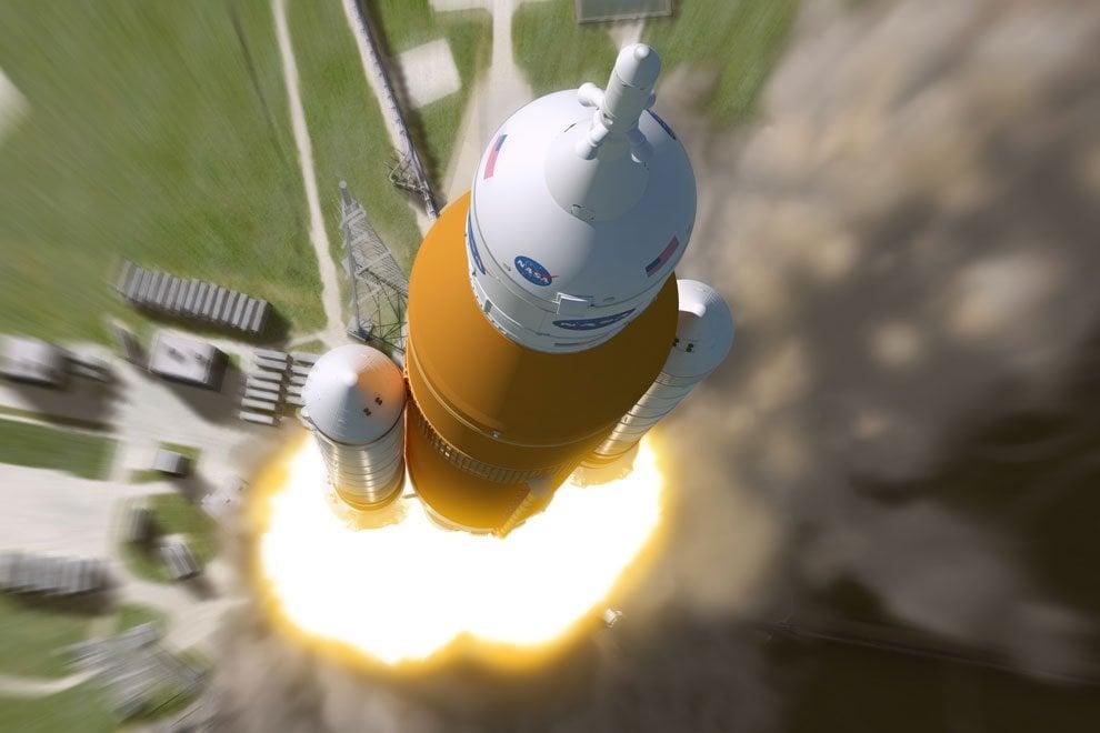 Orion e Space launch system, il razzo e la navetta che porteranno l'uomo su Marte