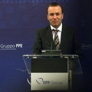 """Manfred Weber: """"Investimenti e riforme, le chiavi per rafforzare l'Europa"""""""