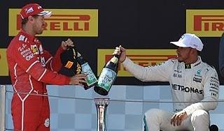 """F1, Hamilton: """"Vorrei sempre gare così"""". Vettel: """"Gp fantastico, peccato non aver vinto"""""""