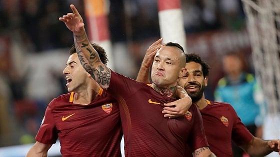 Roma-Juventus 3-1: festa scudetto rimandata per i bianconeri