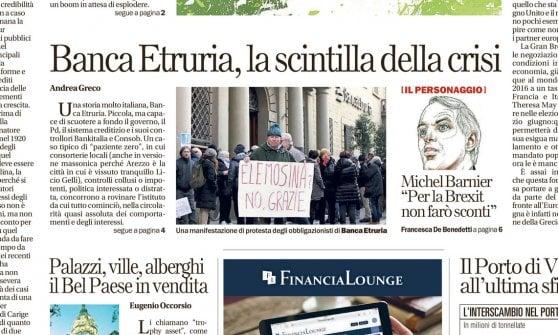 """Banca Etruria, il """"paziente zero"""" della crisi: da Arezzo parte la valanga del credito"""