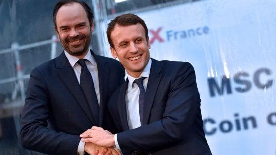 Francia, governo di larghe intese: Macron nomina il conservatore Edouard Philippe nuovo primo ministro