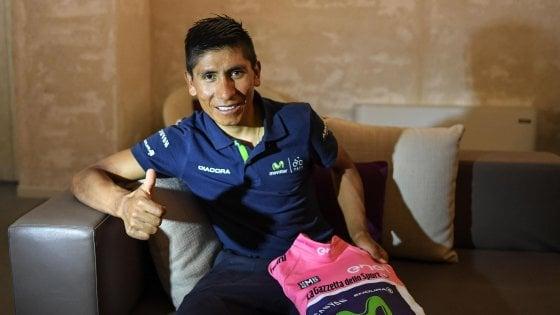 Giro, Quintana pronto a cedere la rosa: ''Ma so già dove riprendermela''