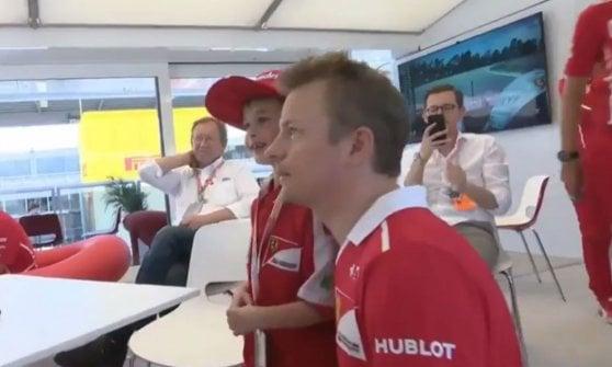 F1, le lacrime del piccolo Thomas per Raikkonen: il pianto che apre una nuova era