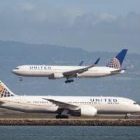 United Airlines, finiscono online i codici di accesso alle cabine di pilotaggio