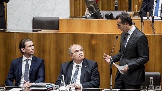 Austria, fallisce la Grande coalizione: si va al voto anticipato
